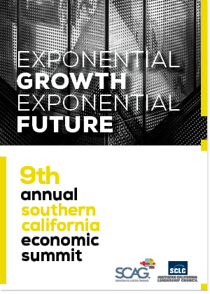 Poster for the 9th Annual Southern California Economic Summit