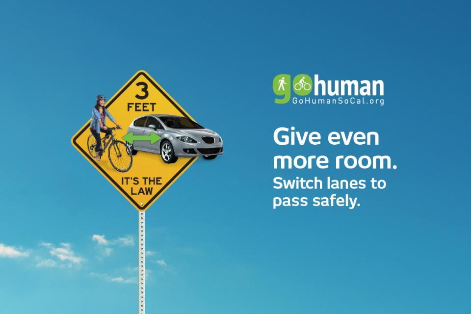 Go Human Ad