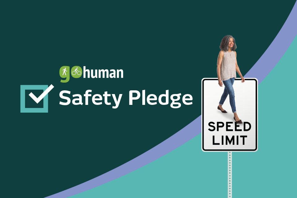 SCAG's Go Human Safety Pledge