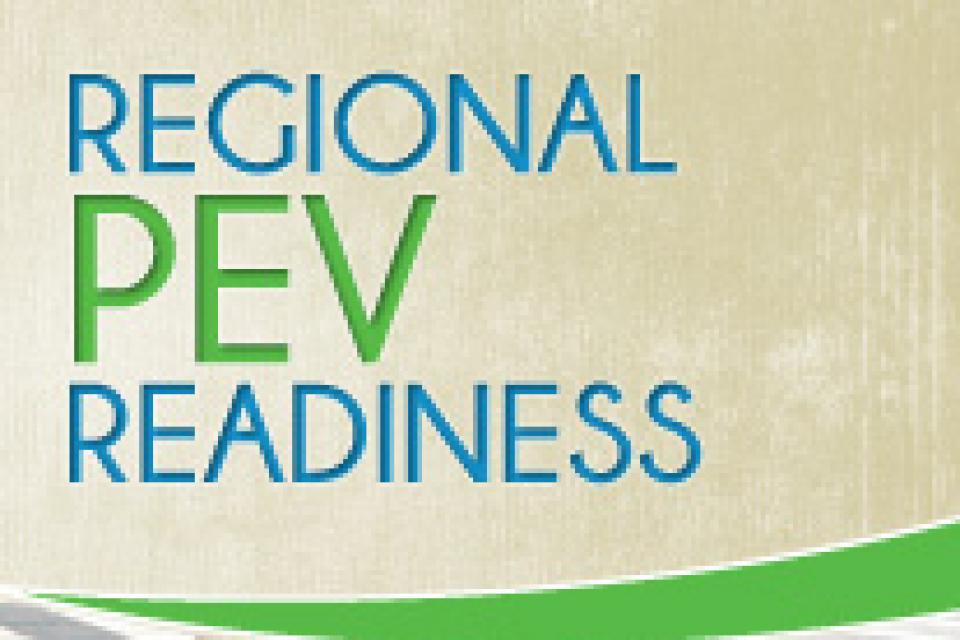 Regional PEV Readiness