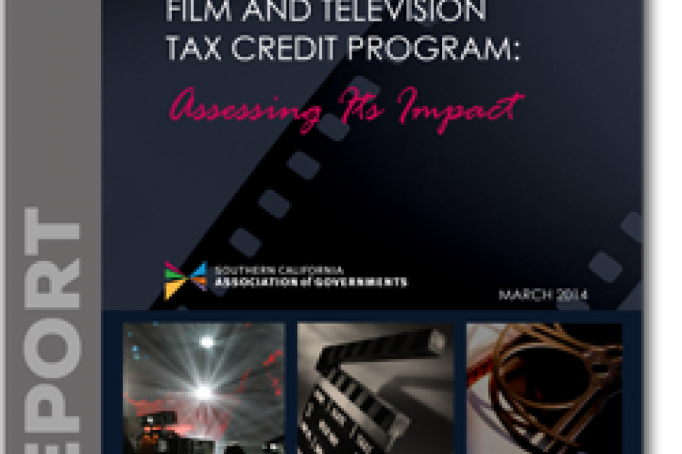 CA Film and Television Tax Credit Program Cover Image