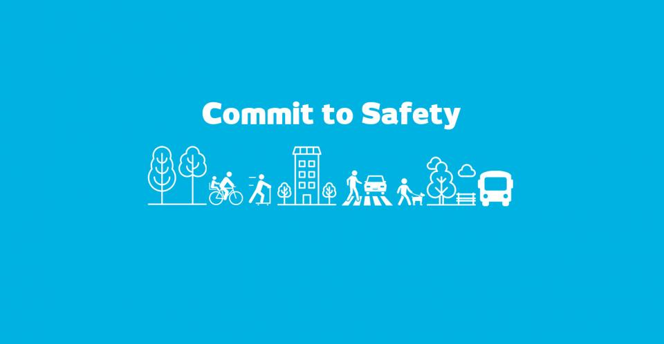 Commit to Safety banner image
