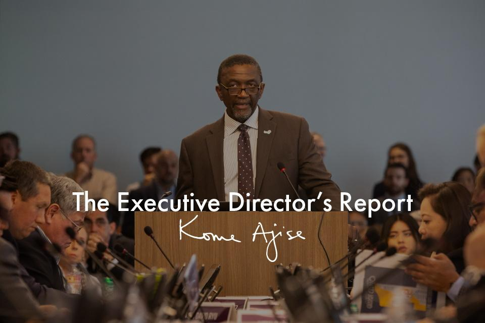 The Executive Director's Report Image