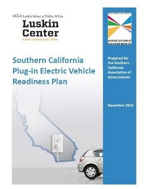 Southern California PEV Readiness Plan Cover Image